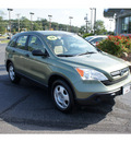 honda cr v 2009 green tea suv lx gasoline 4 cylinders all whee drive 5 speed automatic 07724