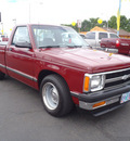 chevrolet s 10 1992 dk red pickup truck gasoline v8 rear wheel drive 5 speed manual 98632