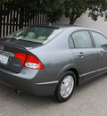 honda civic 2009 dk  gray sedan hybrid hybrid 4 cylinders front wheel drive automatic 93955