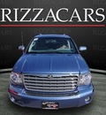 chrysler aspen 2007 dk  blue suv limited 4x4 flex fuel 8 cylinders 4 wheel drive automatic with overdrive 60546