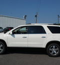 gmc acadia 2011 white suv slt 1 gasoline 6 cylinders front wheel drive automatic 27330