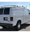 ford econoline cargo 2004 white van gasoline 8 cylinders rear wheel drive automatic with overdrive 77388