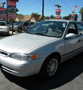 toyota corolla 2000 silver sedan ce gasoline 4 cylinders front wheel drive automatic 92882