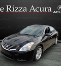 nissan altima 2010 black sedan sr gasoline 6 cylinders front wheel drive automatic with overdrive 60462