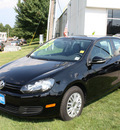 volkswagen golf 2010 black hatchback pzev gasoline 5 cylinders front wheel drive 5 speed manual 07702