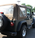 jeep wrangler 2002 green suv sport gasoline 6 cylinders 4 wheel drive automatic 07702