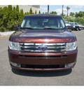 ford flex 2009 dk  red wagon sel gasoline 6 cylinders front wheel drive automatic 07507