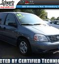 ford freestar 2004 medium steel blue van s gasoline 6 cylinders front wheel drive automatic 07702