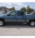 chevrolet silverado 1500 2011 blue ls flex fuel 8 cylinders 2 wheel drive 4 spd auto,elec cntlled 77090