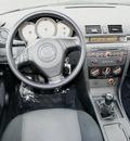 mazda mazda3 2007 black sedan i sport gasoline 4 cylinders front wheel drive 5 speed manual 98371