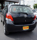toyota yaris 2009 black hatchback s gasoline 4 cylinders front wheel drive automatic 98371
