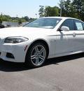 bmw 5 series 2011 white sedan 550i gasoline 8 cylinders rear wheel drive automatic 27616