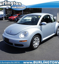 volkswagen new beetle 2010 blue hatchback pzev gasoline 5 cylinders front wheel drive automatic 08016