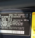 bmw 3 series 2007 monaco blue 328i gasoline 6 cylinders rear wheel drive steptronic 07701