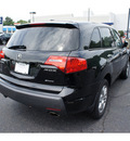 acura mdx 2009 black suv w tech gasoline 6 cylinders all whee drive shiftable automatic 07712