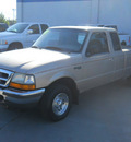 ford ranger 1998 beige pickup truck xlt gasoline 4 cylinders rear wheel drive 4 speed with overdrive 99212