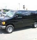 ford econoline e 250 2006 black van gasoline 8 cylinders rear wheel drive automatic 07054
