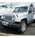 jeep wrangler unlimited 2010 silver suv sahara gasoline 6 cylinders 4 wheel drive automatic with overdrive 08902