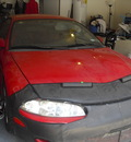 mitsubishi eclipse 1995 red coupe automatic 75077
