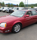 cadillac deville 2004 dk  red sedan dts gasoline 8 cylinders front wheel drive 4 speed automatic 07060