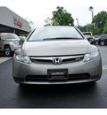 honda civic 2007 dk  gray sedan si gasoline 4 cylinders front wheel drive 6 speed manual 08844