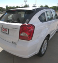 dodge caliber 2011 white hatchback uptown gasoline 4 cylinders front wheel drive automatic 81212