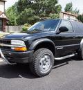 chevrolet blazer 2003 black suv ls zr2 5 speed man gasoline 6 cylinders 4 wheel drive manual 80012