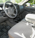 dodge ram 2500 2008 silver sxt gasoline 8 cylinders 4 wheel drive automatic 81212