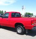 mazda b series pickup 1994 red pickup truck b2300 gasoline v6 rear wheel drive manual 80504