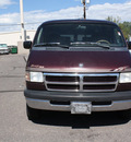 dodge b2500 ram van 1997 plum van mark3 v8 automatic 80229