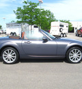 mazda mx 5 miata 2008 dk  gray grand touring gasoline 4 cylinders rear wheel drive 6 speed manual 80504