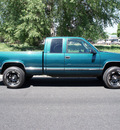 chevrolet c k 1500 series 1997 green k1500 silverado z71 gasoline v8 4 wheel drive automatic with overdrive 80012