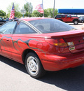 saturn s series 1997 red coupe sc2 gasoline 4 cylinders twin cam front wheel drive automatic 80229