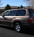 toyota land cruiser 2000 brown suv rear diff locker gasoline v8 4 wheel drive automatic with overdrive 80012