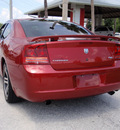dodge charger 2006 red sedan rt gasoline 8 cylinders rear wheel drive automatic 32778