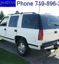 chevrolet tahoe 1999 white suv lt gasoline v8 4 wheel drive automatic 80910