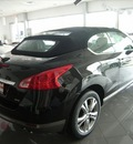 nissan murano crosscabriolet 2011 black suv gasoline 6 cylinders all whee drive not specified 46219