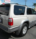 toyota 4runner 2000 silver suv limited gasoline v6 rear wheel drive automatic 92882