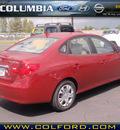 hyundai elantra 2010 red sedan gls gasoline 4 cylinders front wheel drive automatic 98632