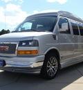 gmc savana explorer van 2011 pure silver van 1500 flex fuel 8 cylinders all whee drive not specified 80910