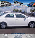 toyota corolla 2009 white sedan le gasoline 4 cylinders front wheel drive automatic 34788