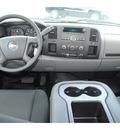 chevrolet silverado 1500 2011 silver work truck flex fuel 8 cylinders 2 wheel drive 4 spd auto,elec cntlled 77090