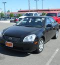 kia optima 2008 black sedan lx gasoline 4 cylinders front wheel drive automatic 99212
