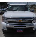 chevrolet silverado 1500 2011 white pickup truck lt flex fuel 8 cylinders 2 wheel drive 6 spd auto 77090