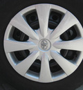 toyota corolla 2010 silver sedan le gasoline 4 cylinders front wheel drive automatic 33884