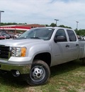 gmc sierra 3500hd 2011 silver work truck diesel 8 cylinders 2 wheel drive not specified 44024