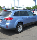 subaru outback 2010 blue wagon 2 5i premium gasoline 4 cylinders all whee drive autostick 55811