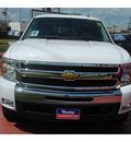 chevrolet silverado 1500 2011 white lt flex fuel 8 cylinders 2 wheel drive 6 spd auto 77090