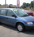 dodge caravan 2007 blue van se gasoline 6 cylinders front wheel drive automatic 13212