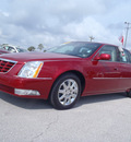 cadillac dts 2011 red sedan premium collection w navi gasoline 8 cylinders front wheel drive automatic 33870
